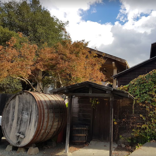 Prager winery and Port Works Napa