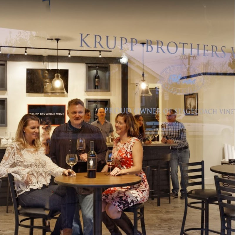 Krupp Brothers Winery Napa