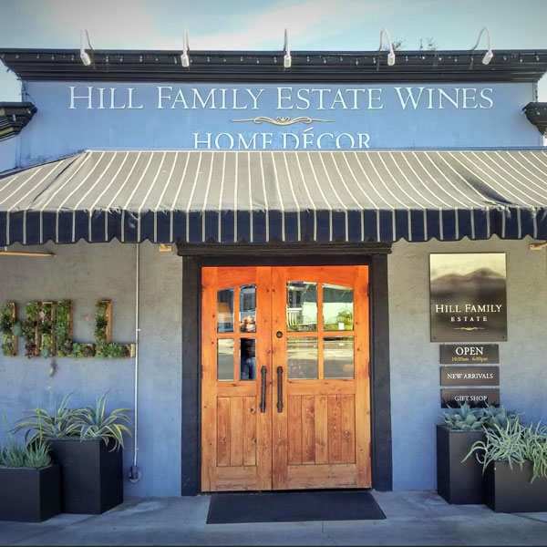 Hill Family Winery Vineyard Napa