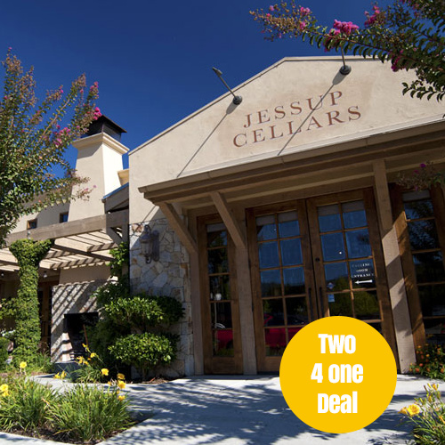 Last stop is Yountville to explore the tasting rooms like Jessup Cellars.