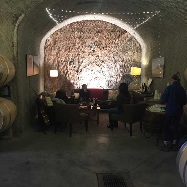 Relic Winery Napa Cave Tastings