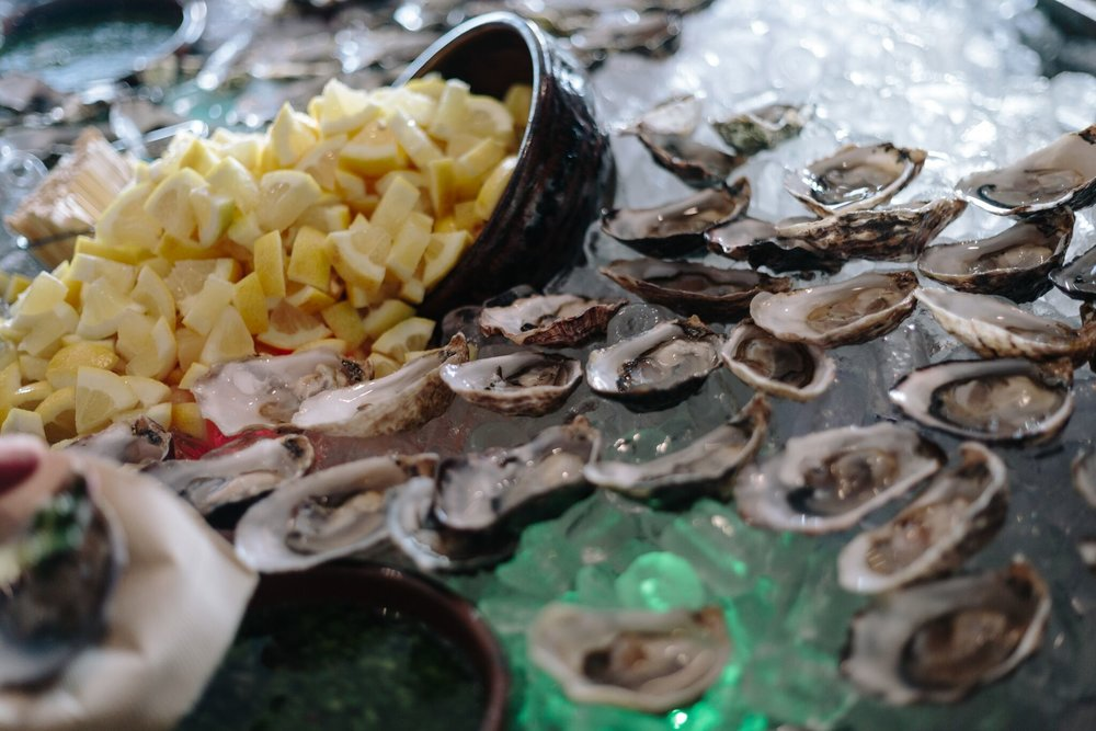 Hog Island Oysters at Copia Conversations in Napa