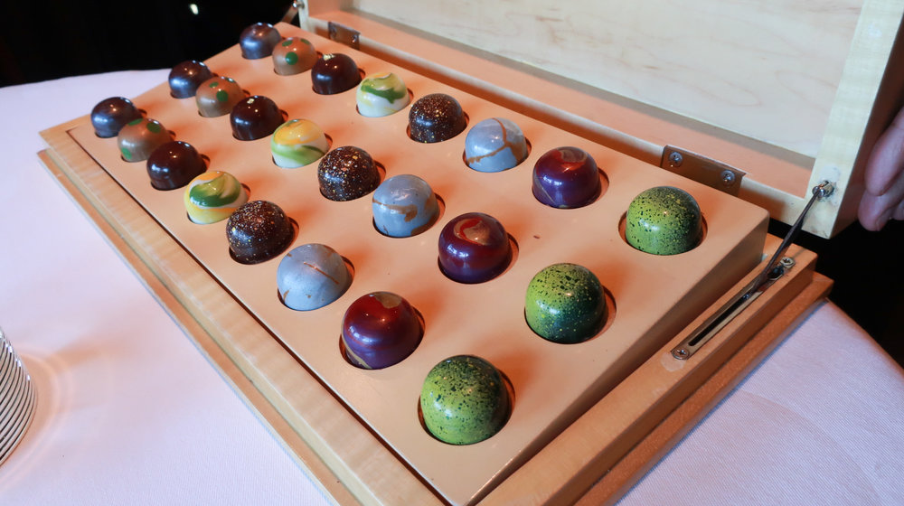 Box of Chocolates at The French Laundry