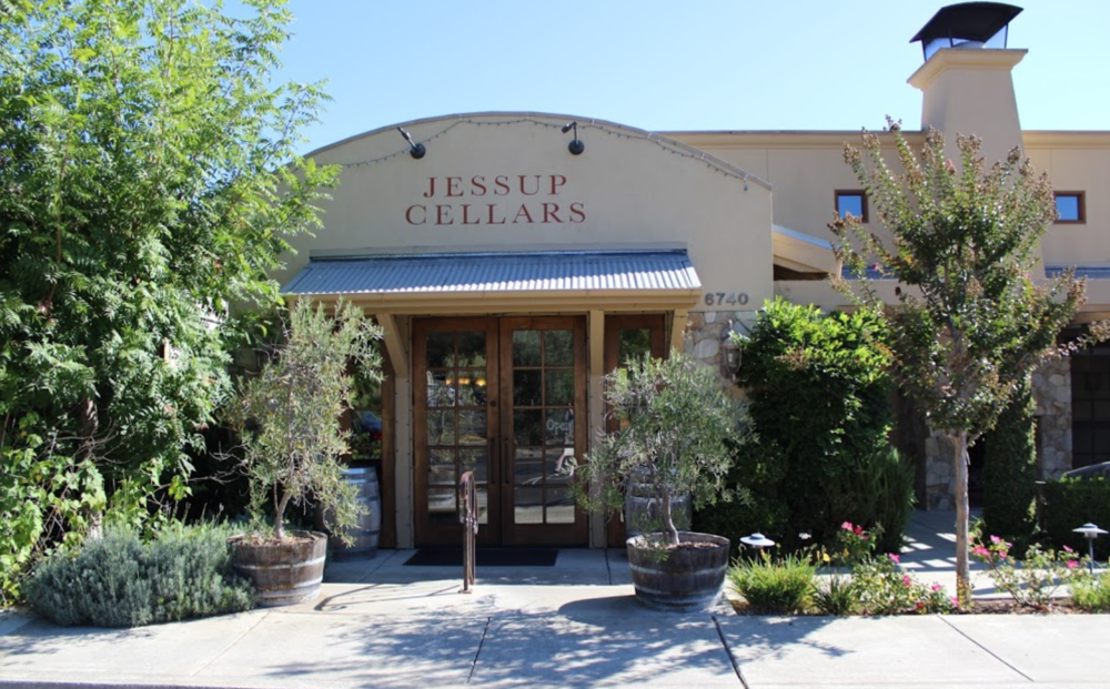 One more stop - Jessup Cellars