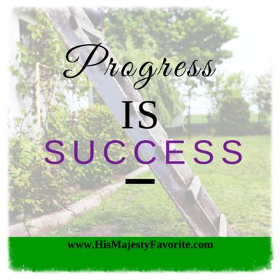 progress is success