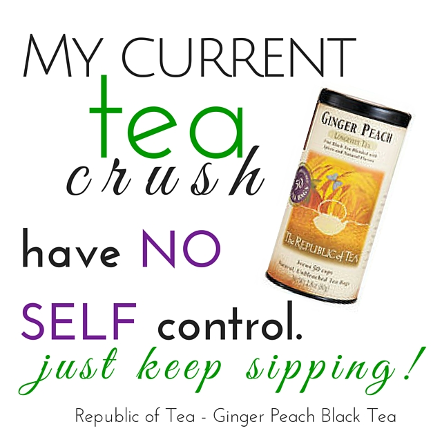 Republic of Tea Ginger Peach Black Tea