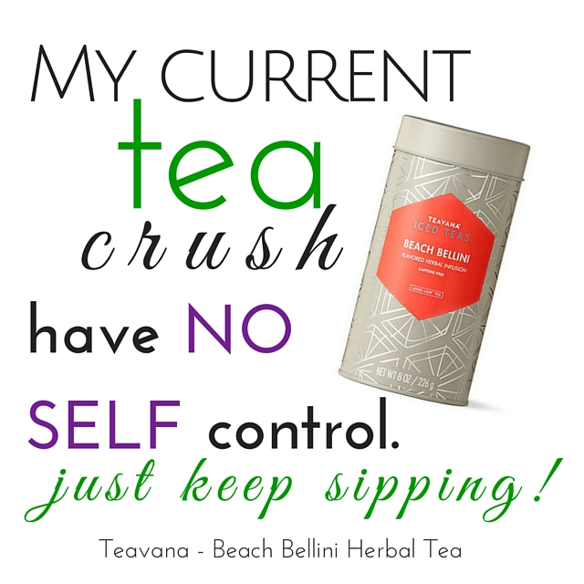 Teavana Beach Bellini Herbal Tea