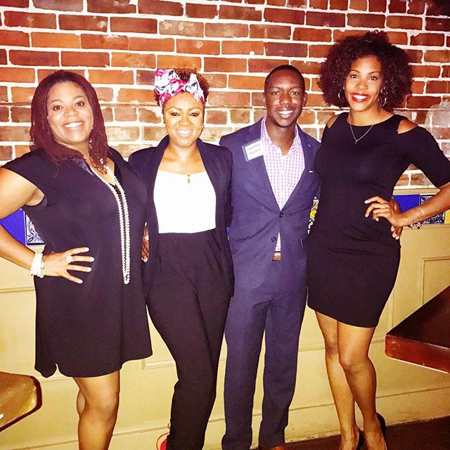 Holiday affairs at the 8th Annual Black Out Party--------- #holidayparty #holidayfun #breaktime