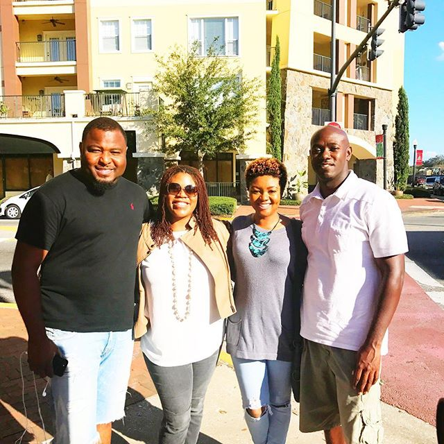 What was supposed to be a friendly 11:30am lunch meet up turned into a full day of playing hooky from work. Spontaneous and Fun times! 😊 --------- #lunchdate #funtimes #collegepark #orlando #playinghooky #breaktime #lunch #spontaneous