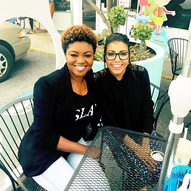 MacBook closed and #breaktime ! #afternoontea and conversation with this bubbly personality and spirited woman. Maintaining #relationships and keeping my network strong. ------- #hiddengem #buildingrelationships #goodpeople #networking #business #friday