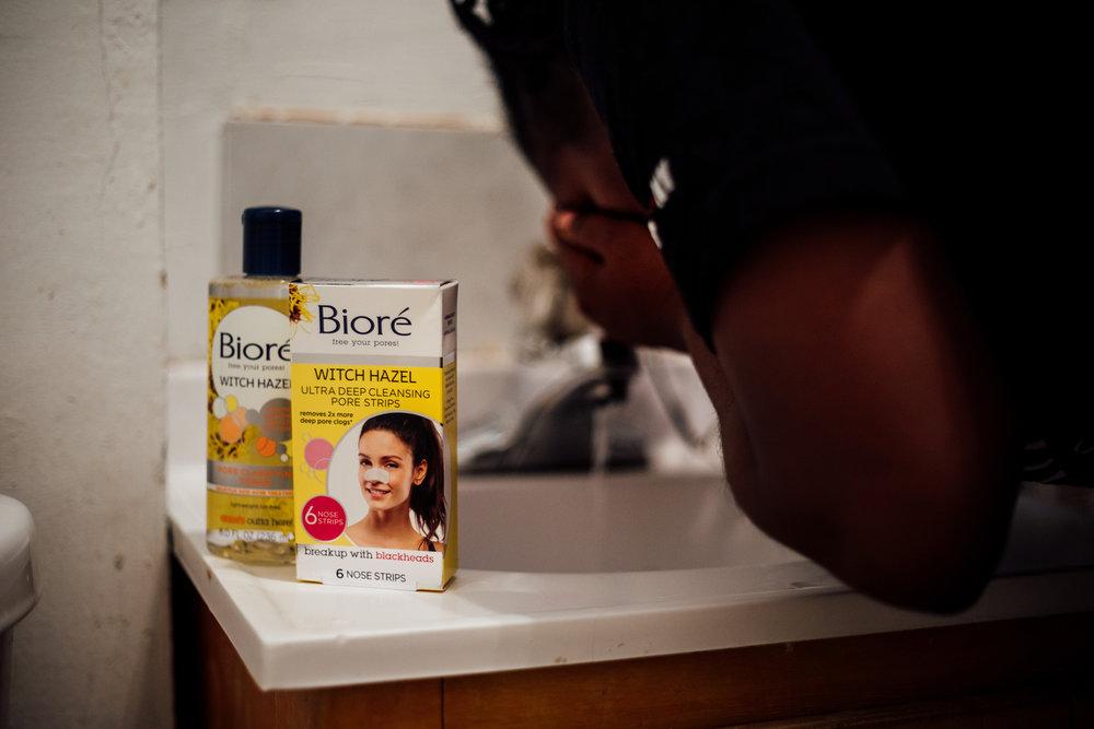 Biore Pore Strips + Witch Hazel Toner + The Loc'd Bella + New York Lifestyle Beauty Blogger