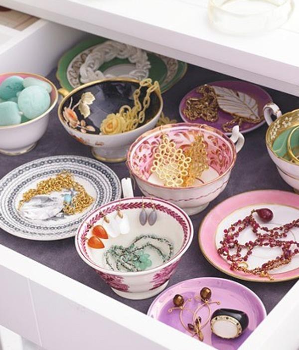 como organizar bijoux