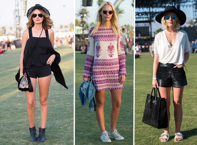 Coachella festival looks street style