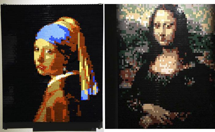 Monalisa e Moça com Brinco de Pérola