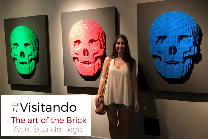 Visitando Art of the brick Lego
