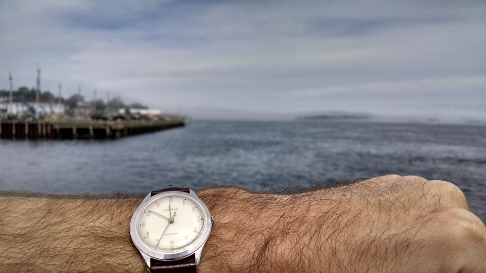 1959 Bulova Sea King at Quoddy Bay  Eastport, Maine  (Easternmost city in the United States)