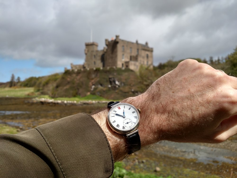 1923 Longines at Dunvegan Castle  MacLeod Estate, Dunvegan, Isle of Skye, Scotland