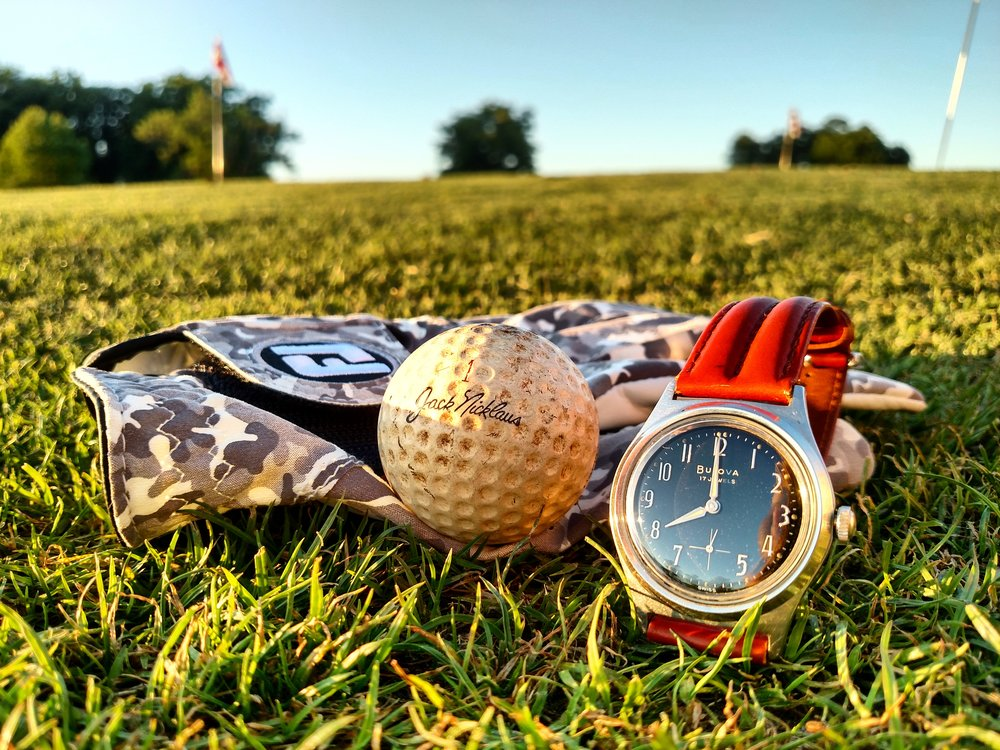 1963 Bulova Surf King at the Holly Ridge Golf Links  Sophia, North Carolina