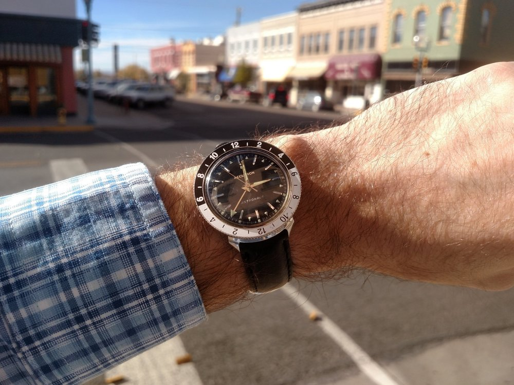 1968 Bulova Accutron Astronaut  Downtown Laramie, Wyoming