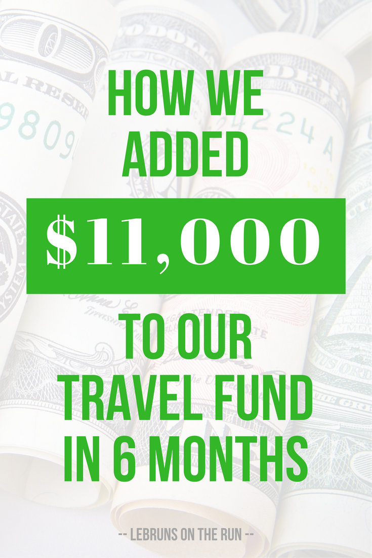 Great money saving tips! How we added $11,000 to our travel fund in 6 months. Very helpful for travel on a budget. It's actually easier than you think to make budget travel work.