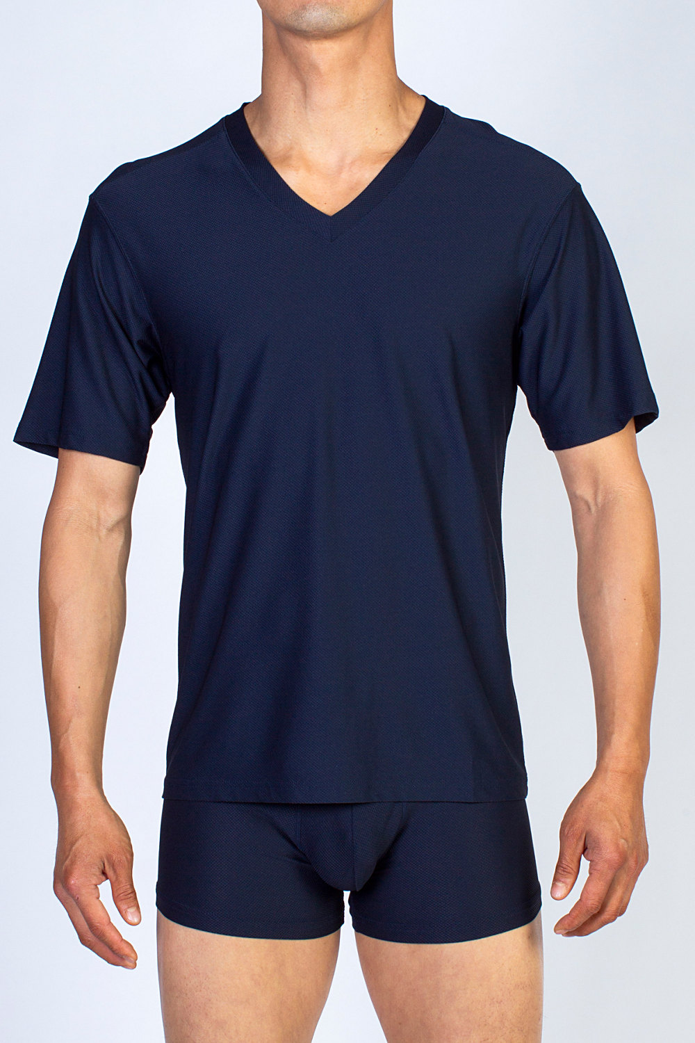 Navy V-neck by Ex-Officio