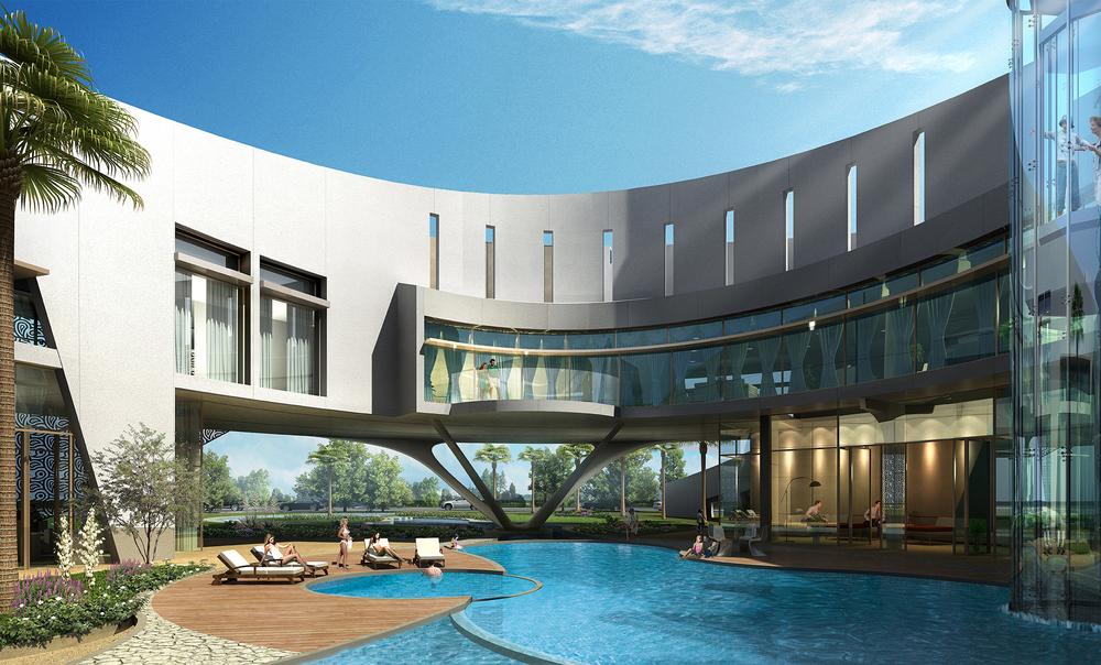 Dubai Villa VIP inner courtyard.JPG
