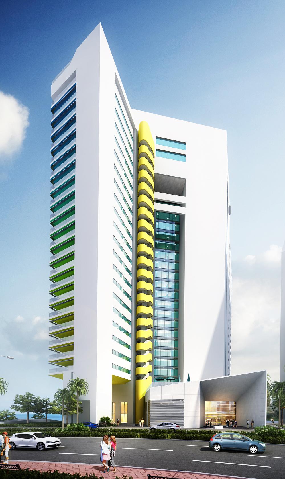 Residential Tower BEAD street.JPG