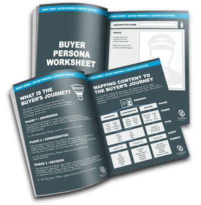 Buyer Persona & Content Mapping Cheat Sheet