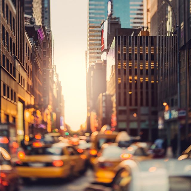 0616 - Times Square  #tiltshift #nyc #timessquare #manhattan #traffic  #nikon #skyscraper #sunset