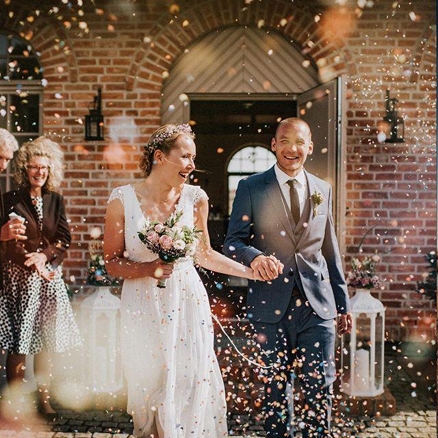 018 - Wedding  #ulrichshusen #hochzeitskleid #hochzeitsfotograf #weddingday #bildpoeten #konfetti