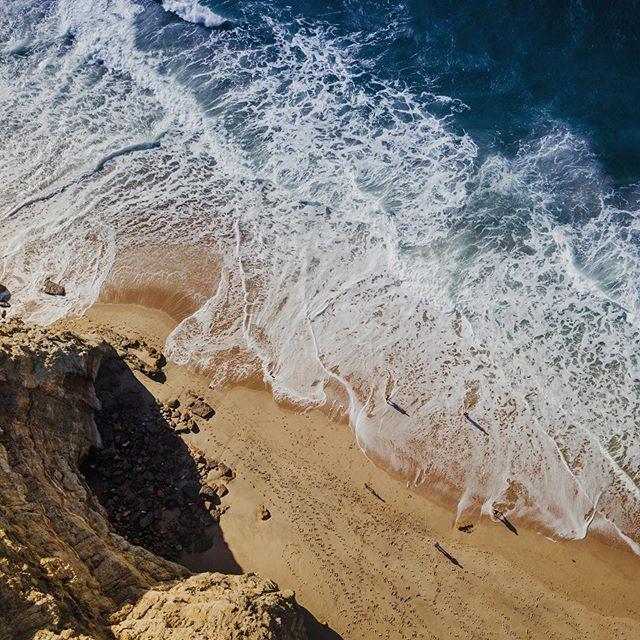 019 - Portugal  #drone #birdseyeview #ocean #beach #bildpoeten #wave #mavicpro