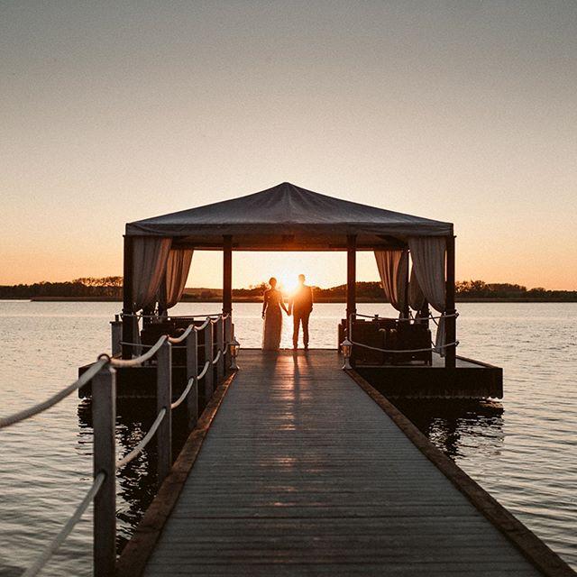 #uckermark #wedding #hochzeitsfotografie #hochzeitskleid #sunset #weddingphotographer