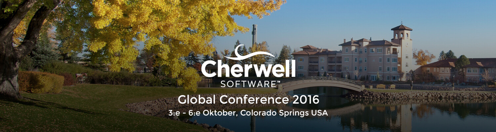 Cherwell Global Conference 2016