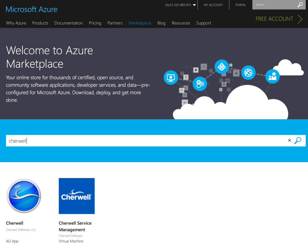 Cherwell on Microsoft Azure