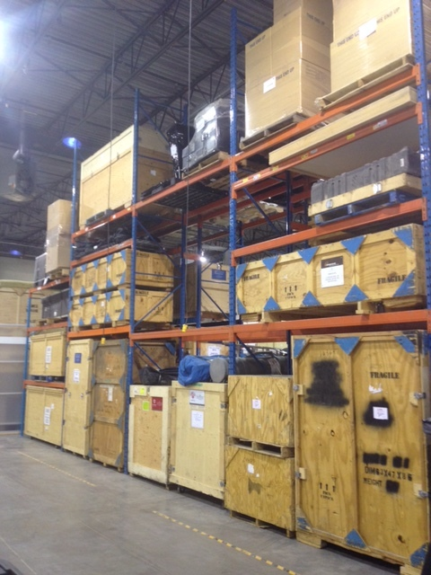 Warehouse Trade Show Booth : Logistics — custom trade show displays exhibits