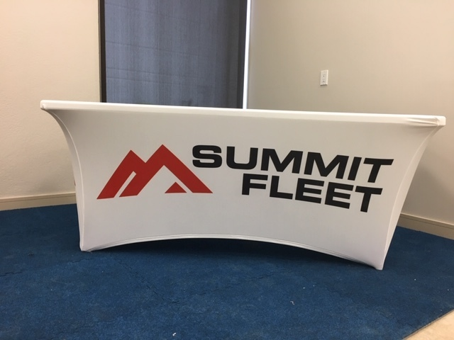 Summit Fleet stretch tablecloth.JPG
