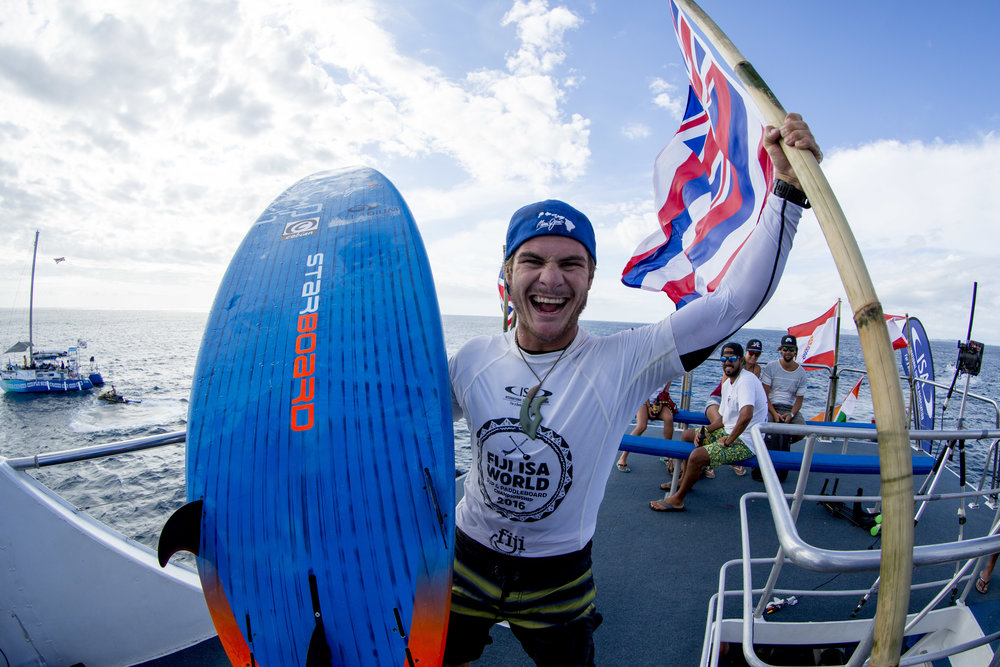 Zane Schweitzer - HawaiiSUP Surfing, SUP Technical Race and Distance Race