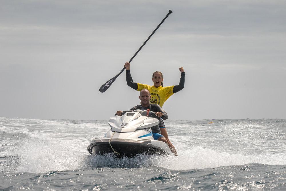 Shakira Westdorp - AustraliaSUP Surfing