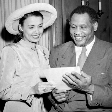 Image result for lena horne and paul robeson