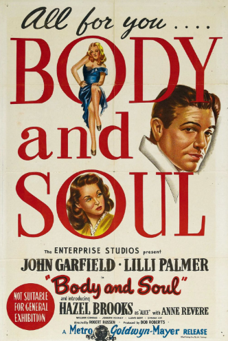Body and Soul (1947) 📽