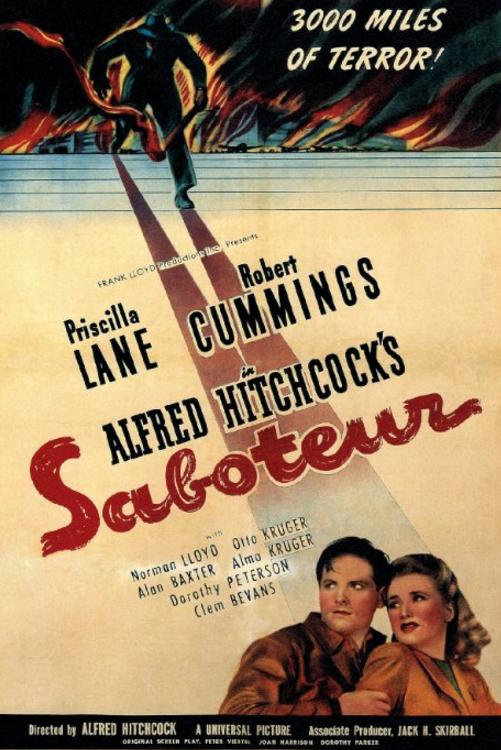 Saboteur (1942)🌟  📖