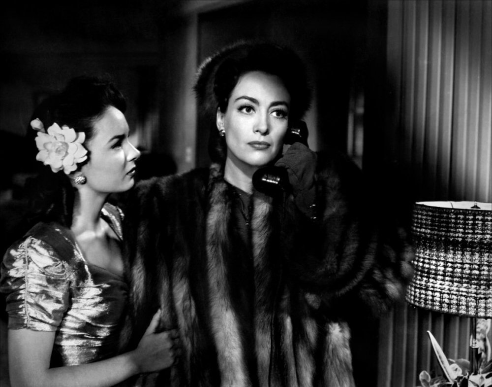 Joan Crawford and Ann Blyth in Mildred Pierce, 1945