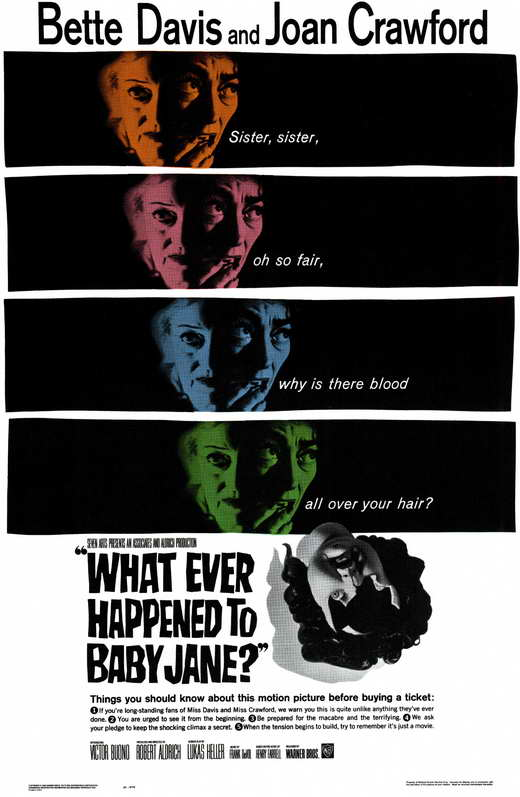 What Ever Happened to Baby Jane? (1962) 🌟 📽