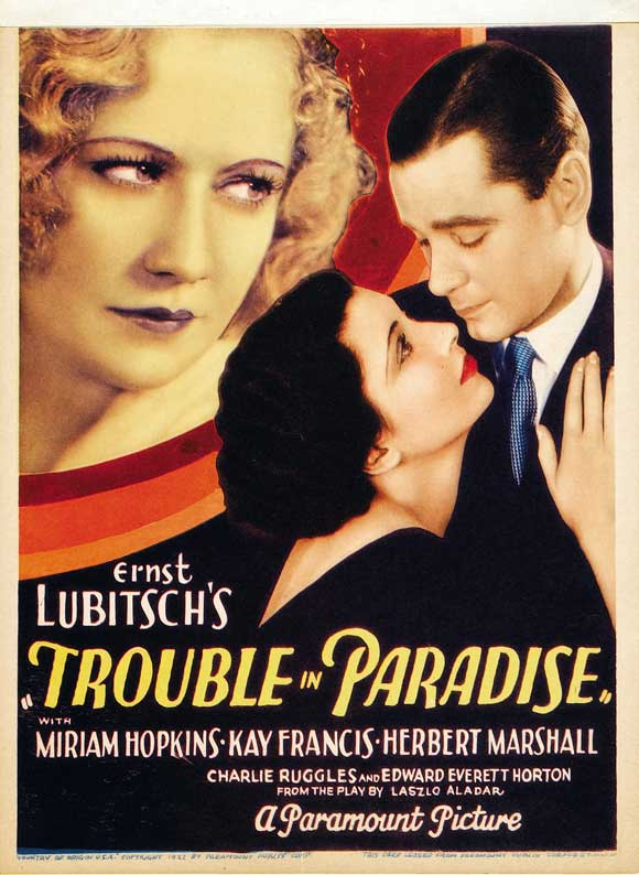 Trouble in Paradise (1932) 🌟