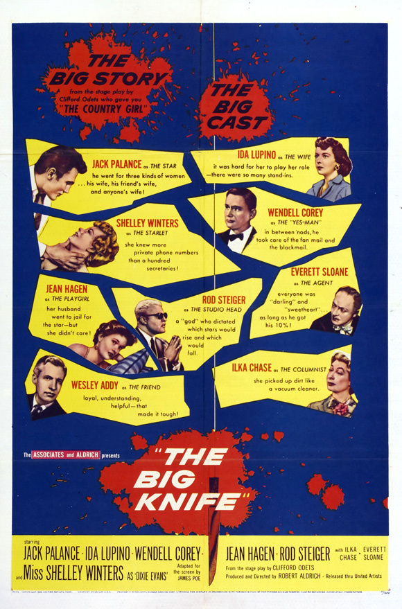 The Big Knife (1955) 🌟