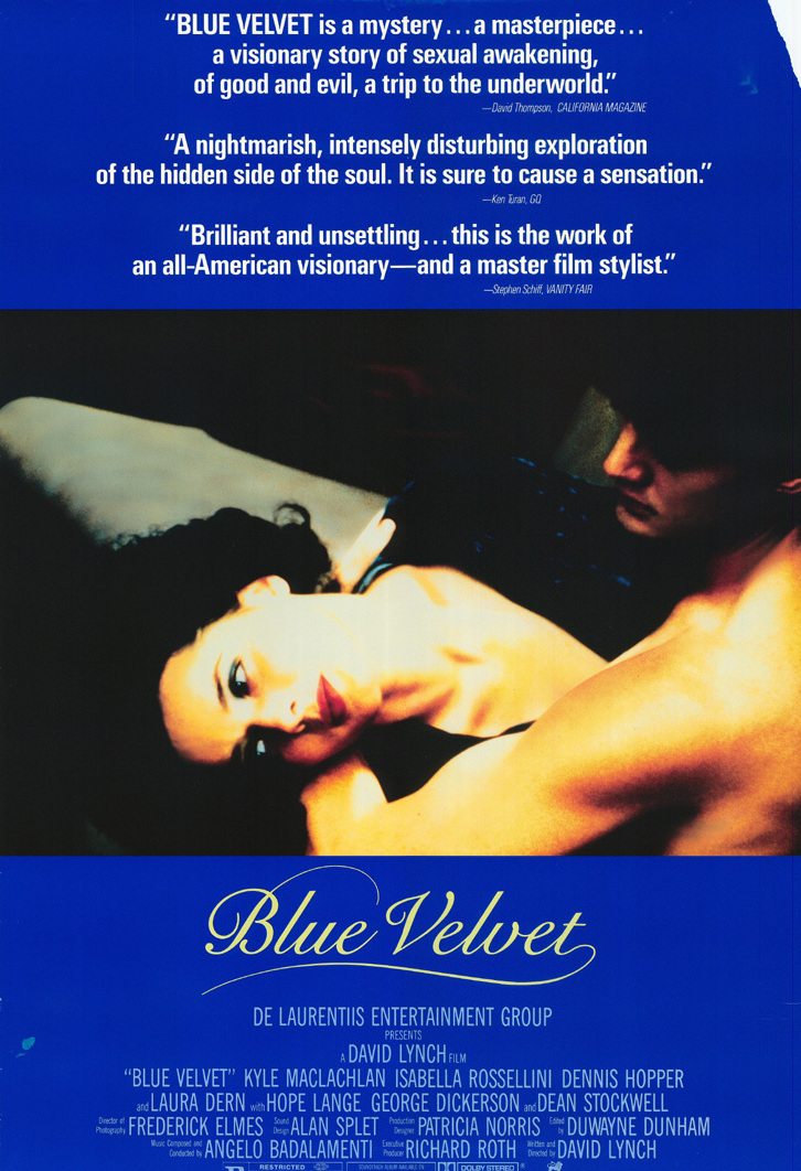 Blue Velvet (1986) 🌟