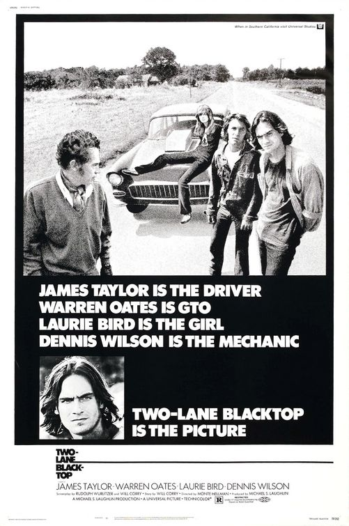 Two-Lane Blacktop (1971) 📽