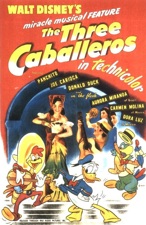 The Three Caballeros (1944) 📽
