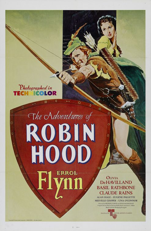 The Adventures of Robin Hood (1938) 🌟