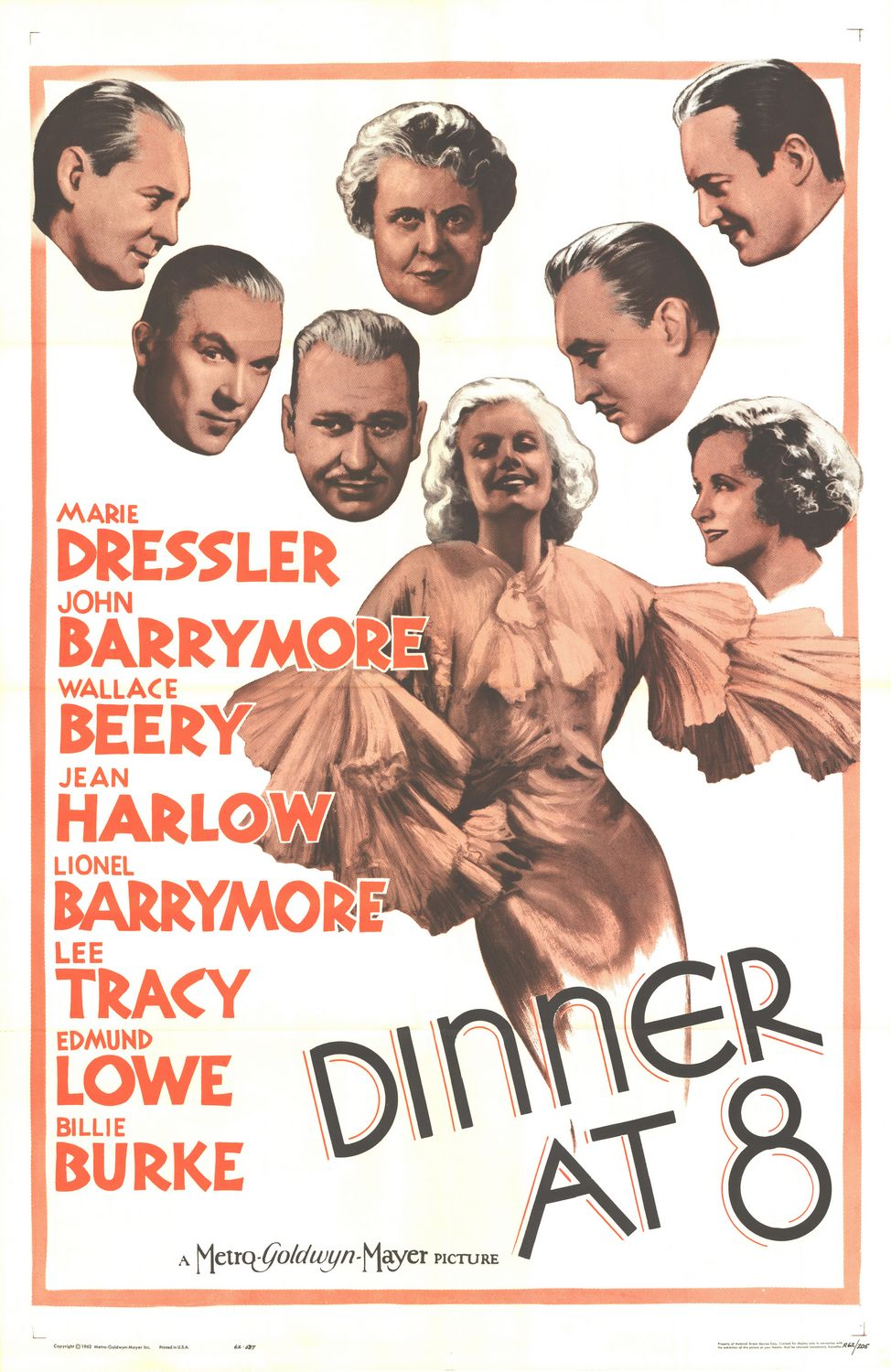 Dinner at Eight (1933) 📽